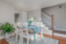 Interio Photography of Dining Room