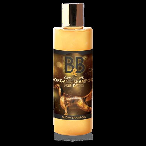 B&B SHOW Økologisk Hundeshampoo