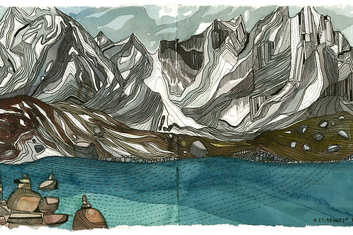 Gokyo Lakes Limited Edition Print