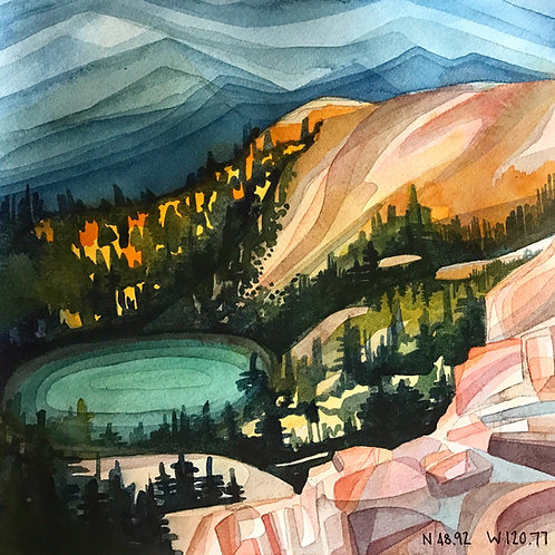 Sketchbook Print / Washington Wilderness