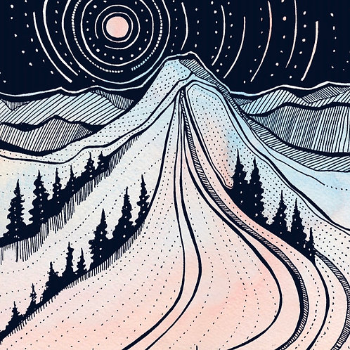 Mountain Print  / Support NWAC