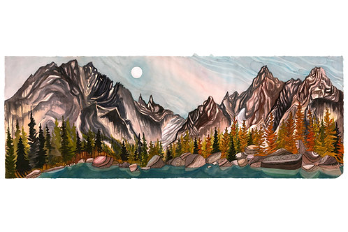 The Enchantments Colchuck Camp Limited Edition Print (2 sizes)