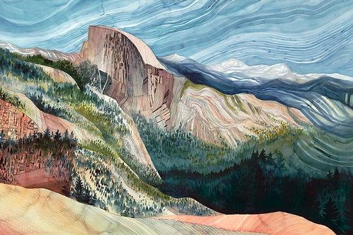 Half dome Yosemite Limited Edition Print