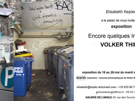 """Volker Thies """"Encore quelques Instants!"""""""