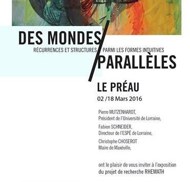 Exposition Stéphane Trois Carrés
