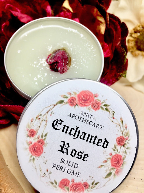 Enchanted Rose Solid Perfume