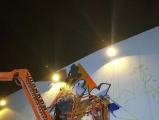 Mural work - Dubai