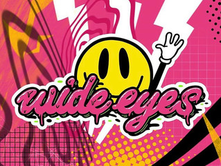 Wide eyes events - logo revamp