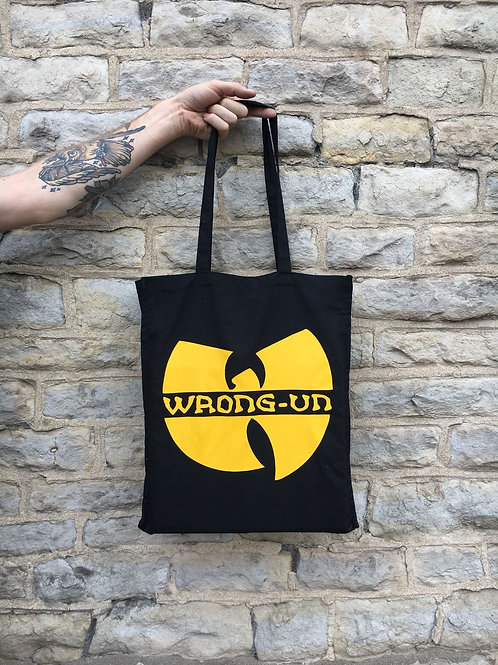 'WRONG-UN' tote bag