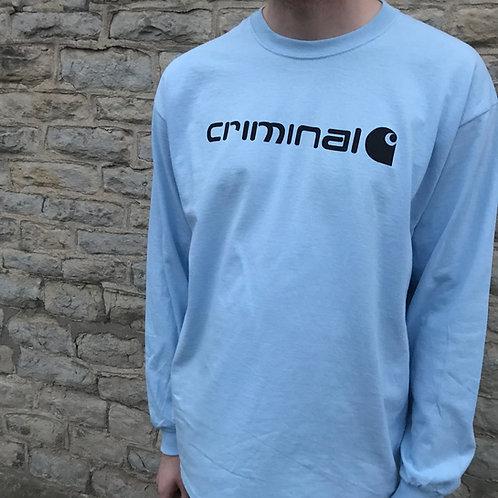 CRIMINAL - Long sleeve tee