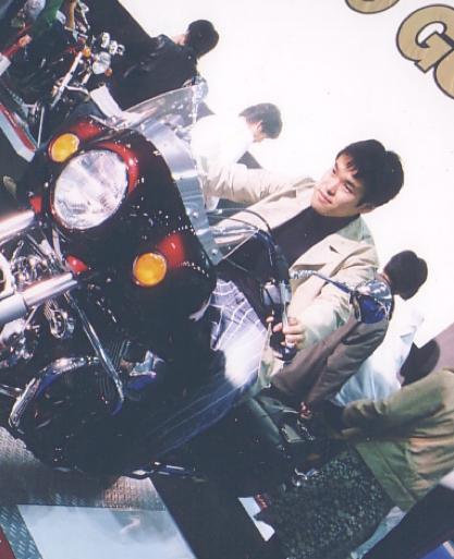 東京モーターショーにて