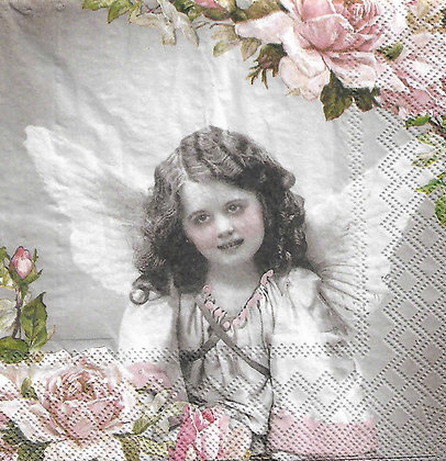 Angel and Roses