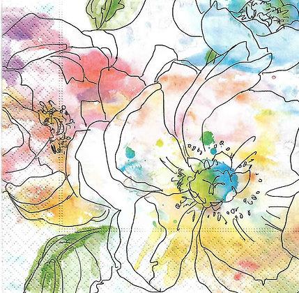 Water colour blooms Código 7014