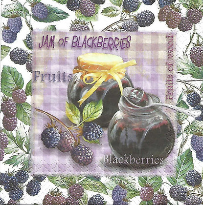 Jam and blackberries Referencia 2032