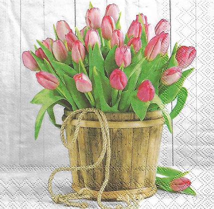 Tulips in Bucket Código 1094