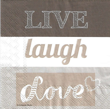 Live Laugh Love sand