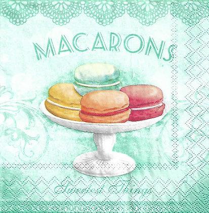 Macarons aqua