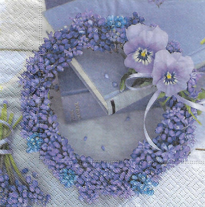 Blue wreath Referencia 7009