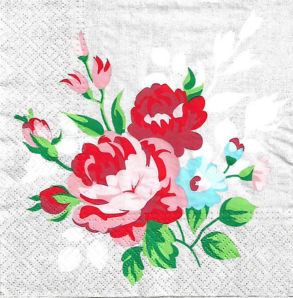Flowers on Linen Referencia 1095