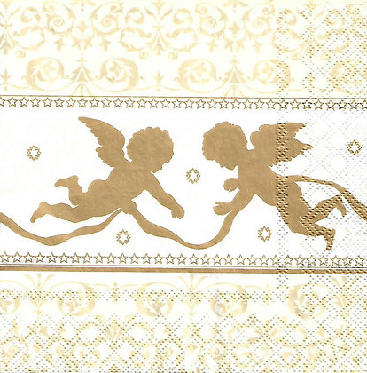Angels Silhouette gold
