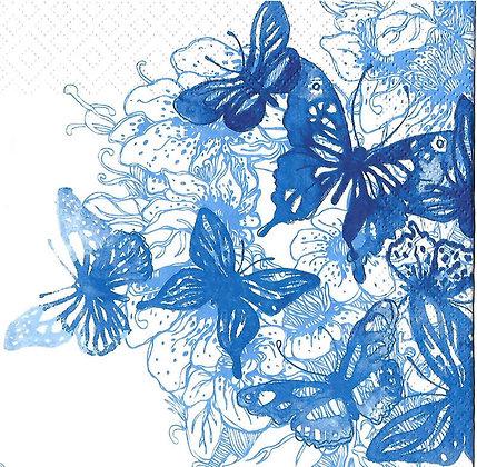 Amazing butterflies blue