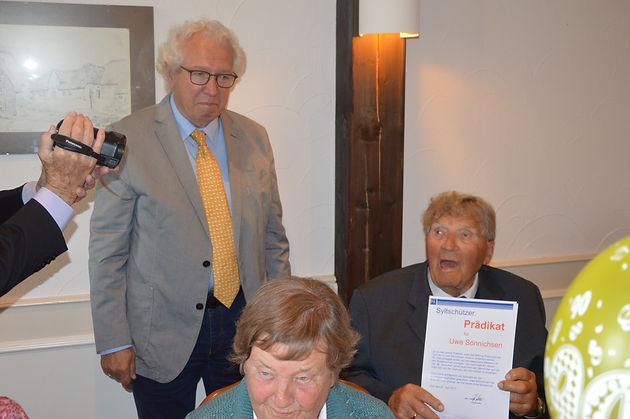 Uwe Sönnichsen Feiert 90 Geburtstag Syltfunk