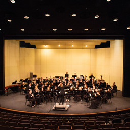 """Premiere of """"On the Banks of the Mississippi River"""" by the Winona State Universit Symphonic Wind Ensemble"""