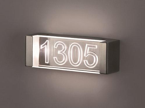 Ruumi numbrivalgusti LED (ristkülik)