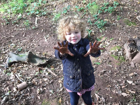 Forest School with Dino