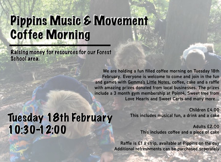 Pippins Music & Movement Coffee Morning