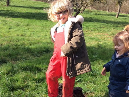 Our new forest school waterproofs have arrived!