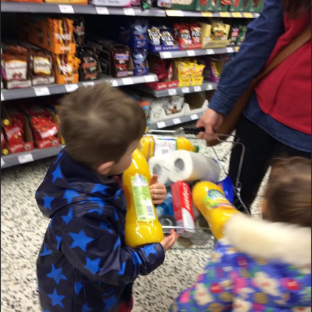 Shopping Trip for The Food Bank
