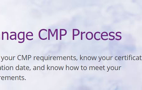 Credential Maintenance Program (CMP) Changes