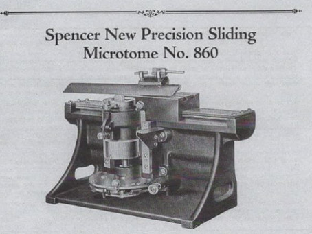 Spencer 860 Microtome