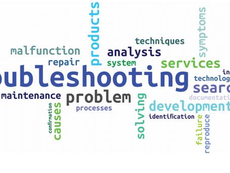 Troubleshooting: Simple Factors to Consider