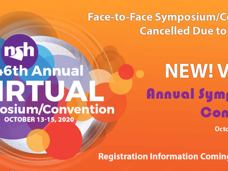 Cancellation of Face-to-Face 2020 Annual Symposium/Convention in Reno
