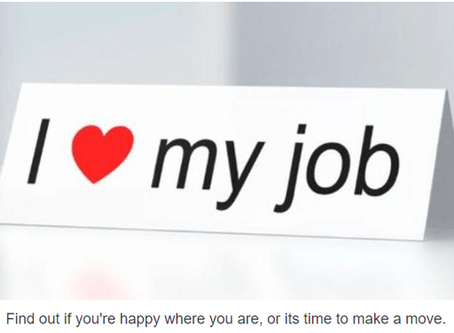 Are You Satisfied With Your Job?