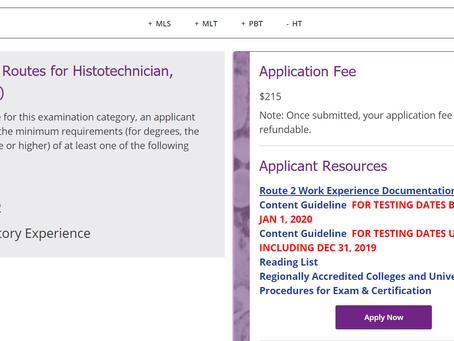 How Do I Sign Up for the ASCP HT Exam?