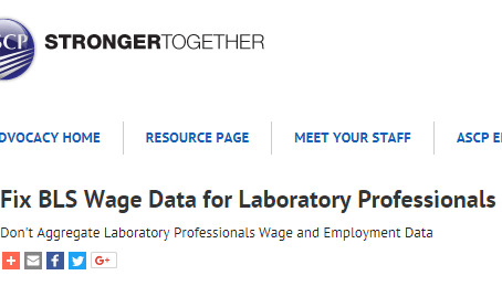 Bureau of Labor Statistics Reporting