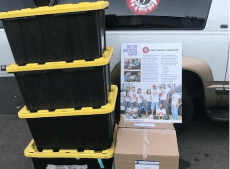 NSH Donates 564 Items to Stuff Your Suitcase