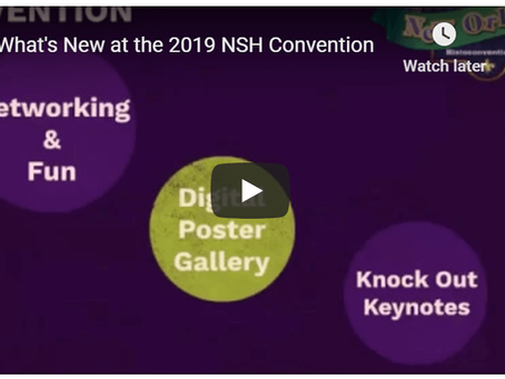 What's New at the 2019 NSH Convention?