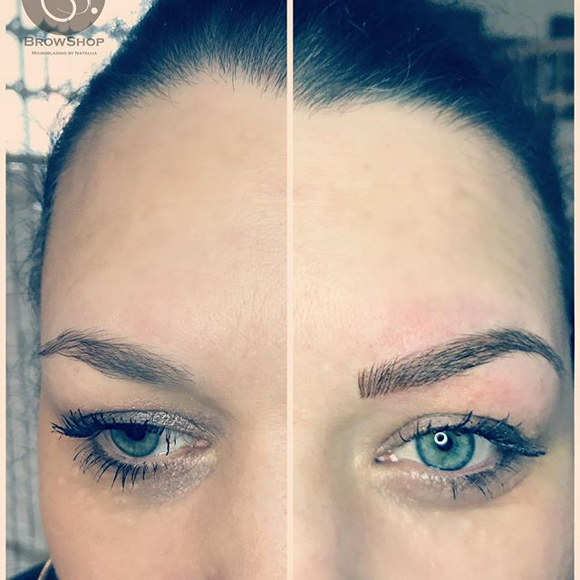 More defined eyebrows for this lovely la