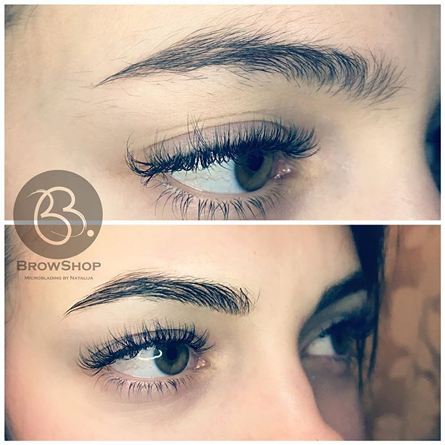 Bolder eyebrows for this babe 💕_•_•_•_#