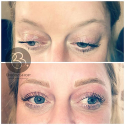 Gorgeous eyebrows for my old friend 💞🌷
