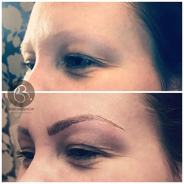 From NO eyebrows 🙈to WOWbrows🤩💕 #micr