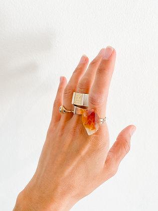 טבעת סיטרין גולמית