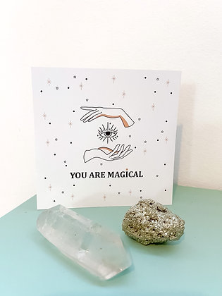 You are magical גלויה