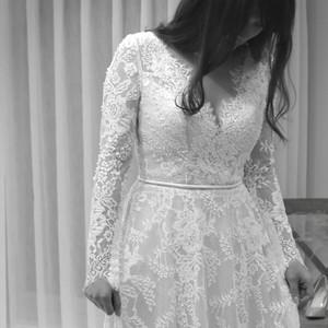 #精緻蕾絲 #蕾絲長袖 #小圓裙襬 #歐美款