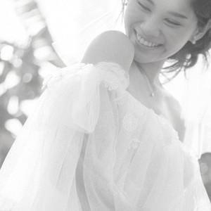 #簡約美式風格 #落肩款 #輕紗款