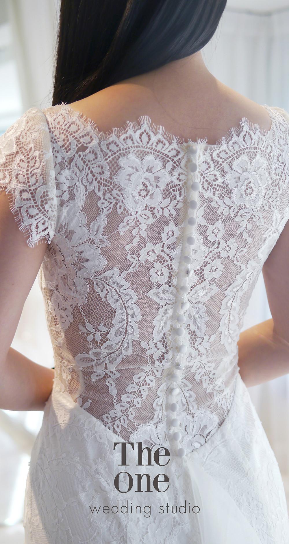 #睫毛蕾絲 #優雅韓風設計 #蕾絲魚尾款